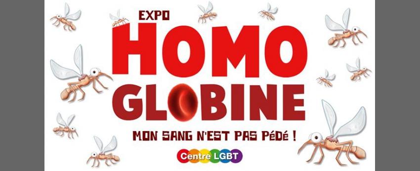 Homoglobine - Mon sang n'est pas pédé !