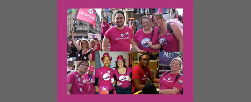 Devenir bénévole à SOS homophobie- réunion de présentation