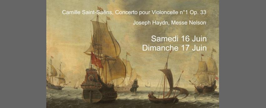 Messe et Concerto avec les Concerts Gais, Alma Musica et Eolides