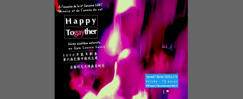 Happy Togayther— soirée asiatique au Gym Louvre Sauna