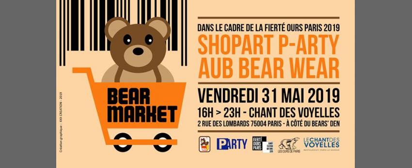 Bear Market- Fierté Ours / ShopArt + AUB Bear Wear