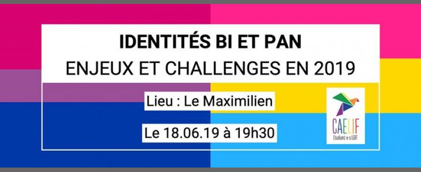 Table ronde - Identités Bi/Pan