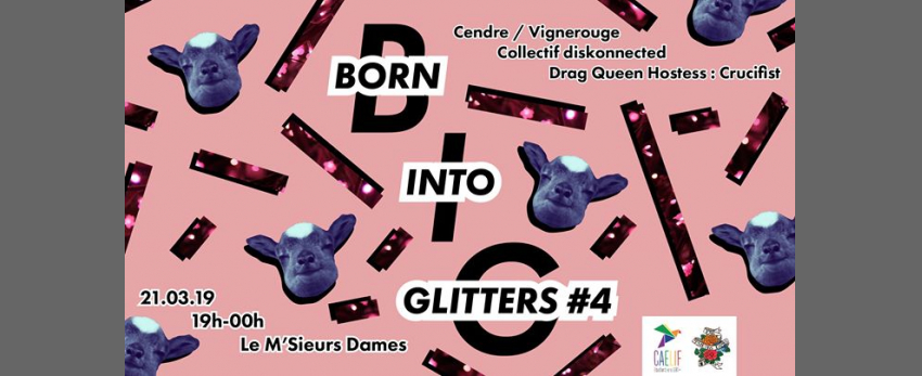 Born Into Glitters #4 X Diskonected