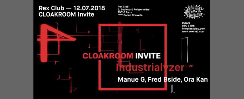 Cloakroom Invite Industrialyzer