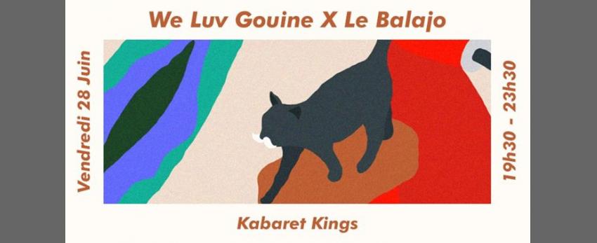 We Luv Gouine x Le Balajo : Kabaret Kings