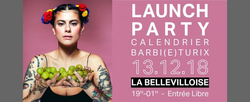 Launch Party Calendrier Barbi(e)turix