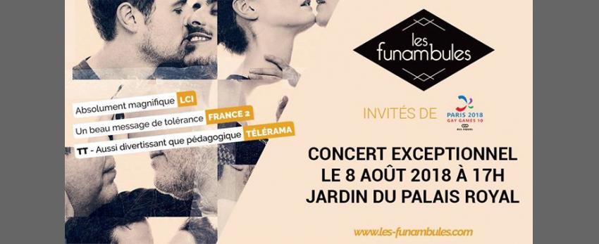 Les Funambules | Concert exceptionnel (gratuit) Gay Games 2018