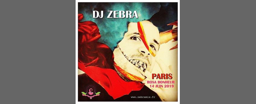 DJ Zebra // PARIS Rosa Bonheur