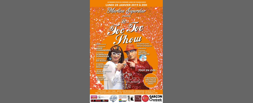 TOC TOC SHOW by Martine Superstar Saison 6