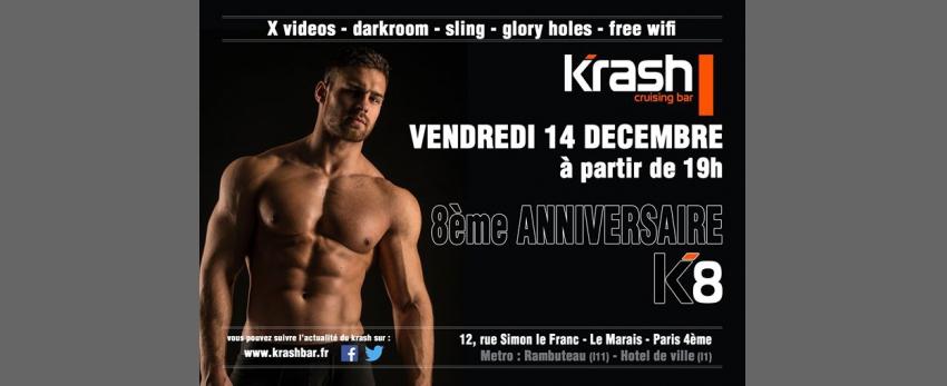 K8 - 8ème Anniversaire du Krash