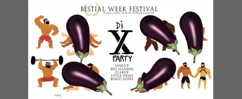 Di X Party - Bestial Week Festival
