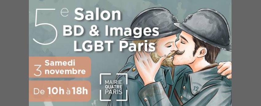 5e Salon BD & Images LGBT Paris