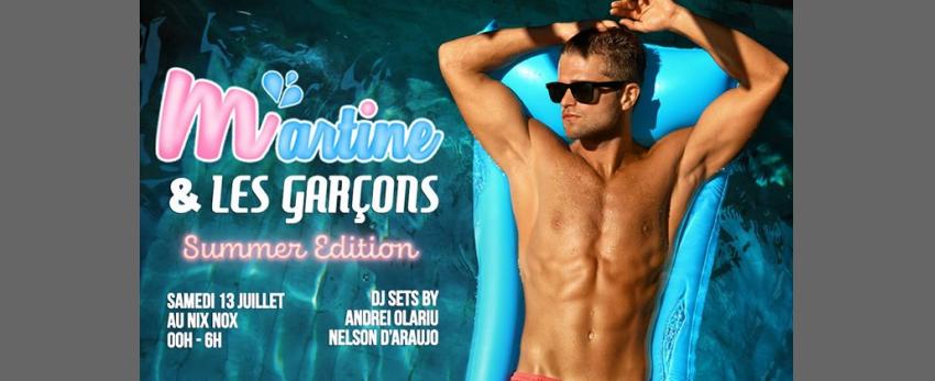 Martine et les garçons - Summer Edition