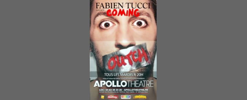 Fabien Tucci dans Coming Outch