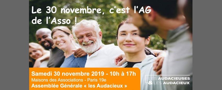 """Assemblée Générale association """"Les Audacieux"""""""