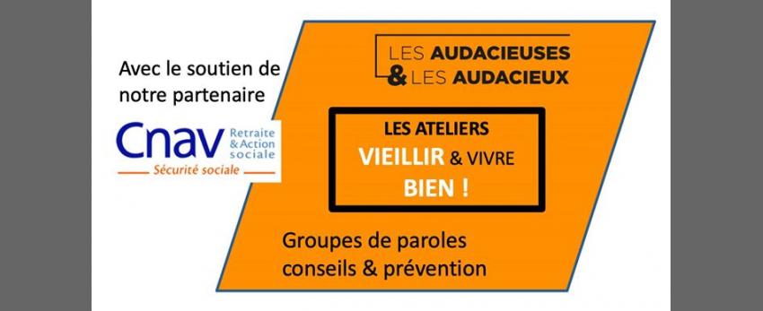 """Atelier """"Vieillir & Vivre Bien"""" - Seniors & bien-être"""