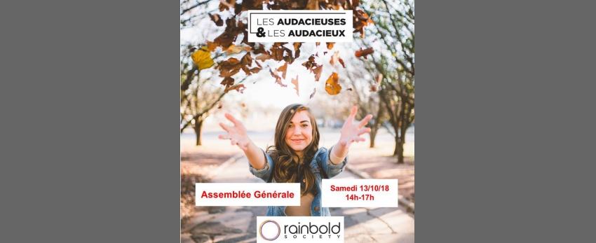 """Assemblée Générale Association """"Les Audacieuses & Audacieux"""""""