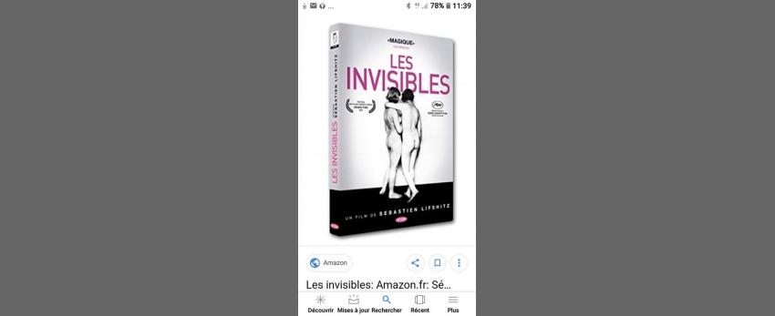 Projection Les Invisibles (gratuit)