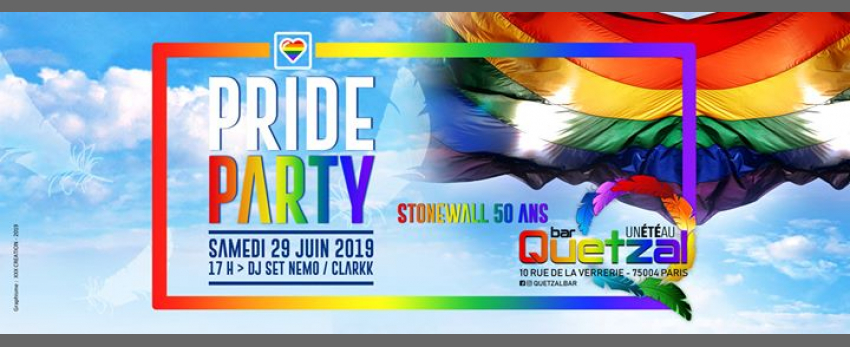 PRIDE PARTY - STONEWALL