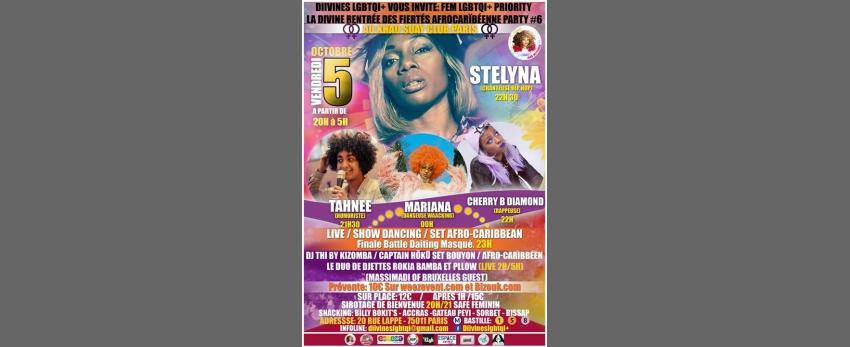 La Divine rentrée des Fiertés Afro-Caraïbéennes party#6