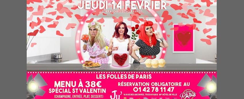 Les Folles de Paris - Spécial St Valentin