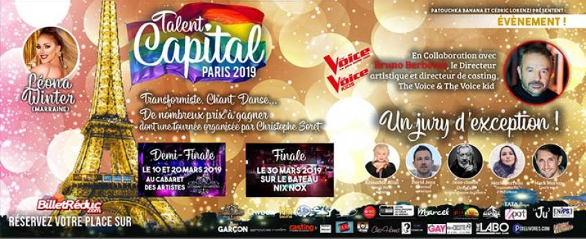 Finale Talent Capital Paris 2019