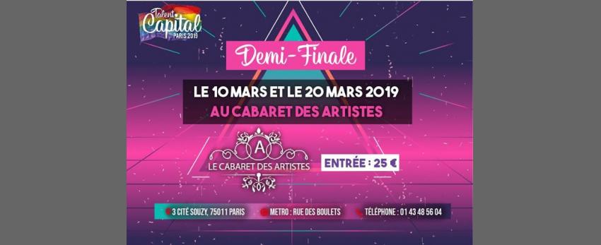 Voici venue l'heure des demi-finales - Talent Capital Paris 2019