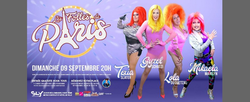 Les Folles de Paris au Sly Act 3
