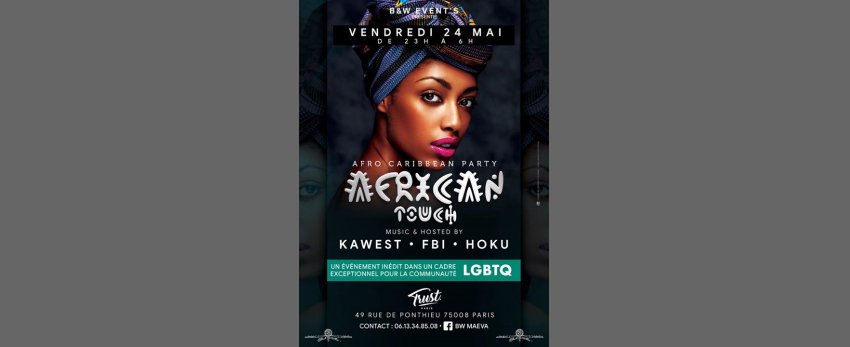AFRICAN TOUCH LGBTQ&FRIENDLY