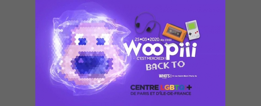 Woopiii Back To X Centre lgbtqi+