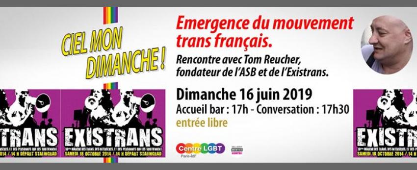 Emergence du mouvement trans Français avec Tom Reucher