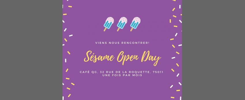 Open day du Collectif Sésame F