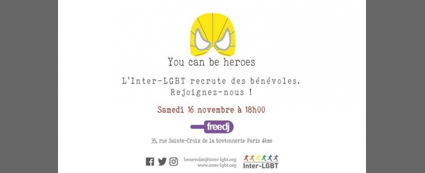 L'Inter-LGBT recrute des bénévoles !
