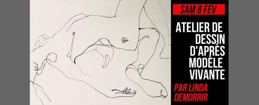 [COMPLET] Atelier de dessin d'après modèle vivante