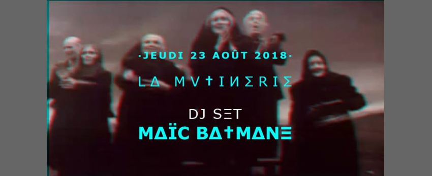 Dj-vj set emo goth witchy kitsh - Maïc Batmane