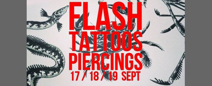Flash-tattoos et piercings // 3 jours