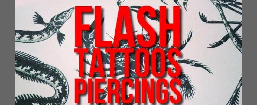 Flash-tattoos et piercings // 3 jours