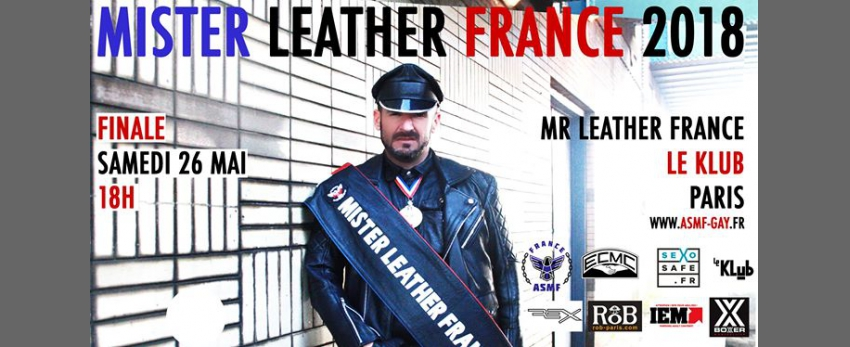 Concours National du Mister Leather France 2018