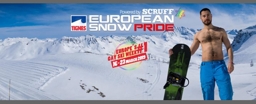 European Snow Pride 2019 - Powered by Scruff