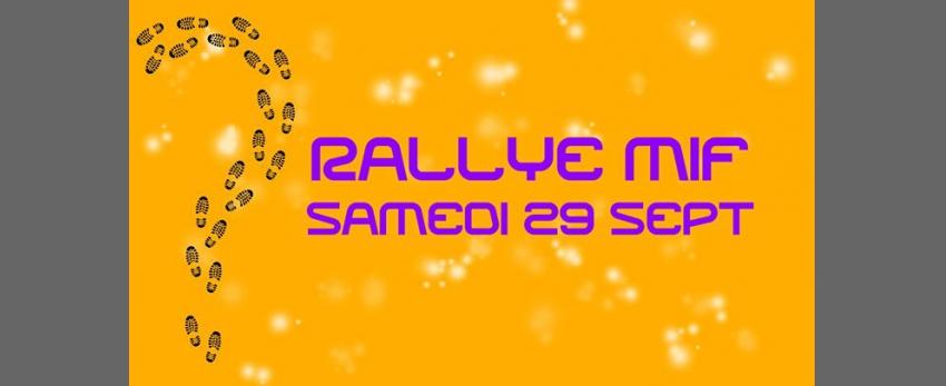 Rallye pédestre MIF de Paris