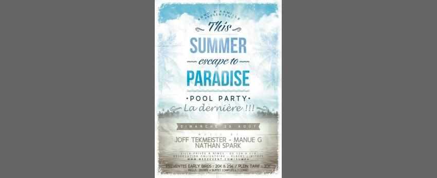 Summer Paradise 2018 | Joff Tekmeister, Manue G & Nathan Spark