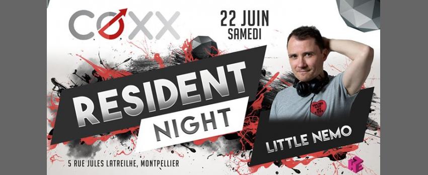 Samedi 22 Juin : RESIDENT NIGHT // Nemo