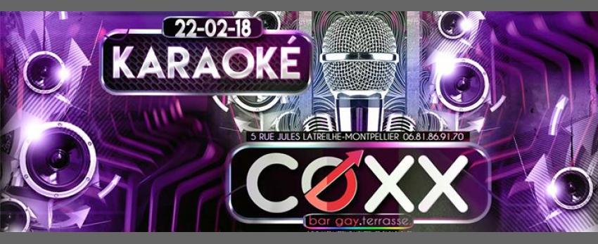 Karaoké au COXX le 22 février