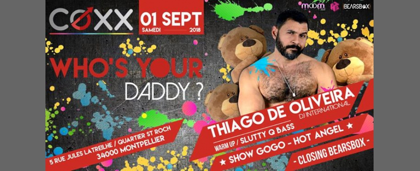 WHO's YOUR DADDY // THIAGO DE OLIVEIRA