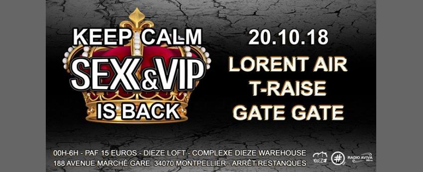 KEEP CALM SEX & VIP is BACK !