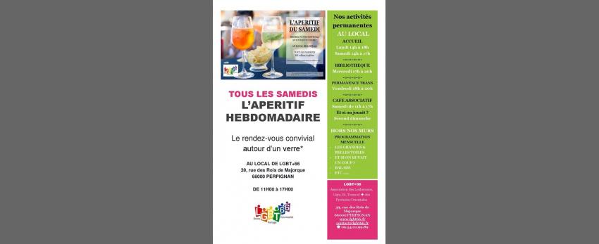 Ouverture Café Associatif Lgbt+66