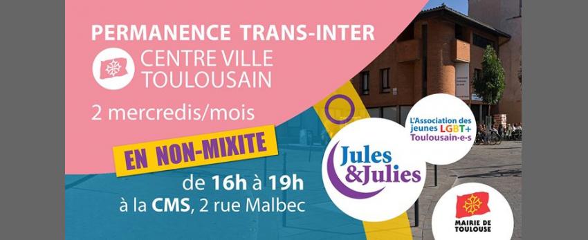 Permanence Trans/Inter Toulouse - Jules & Julies