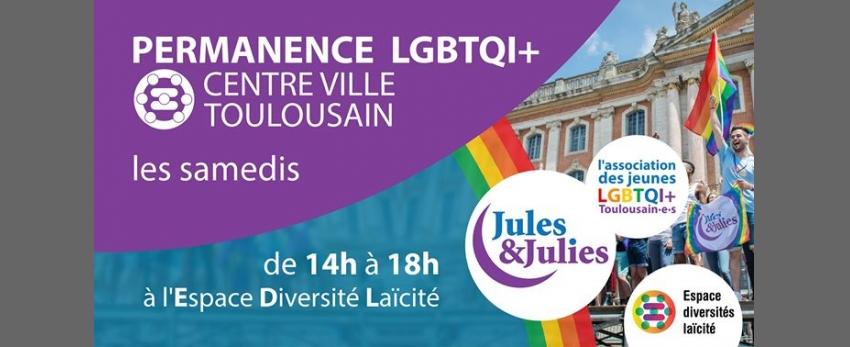 Permanence LGBT+ Toulouse - Jules & Julies