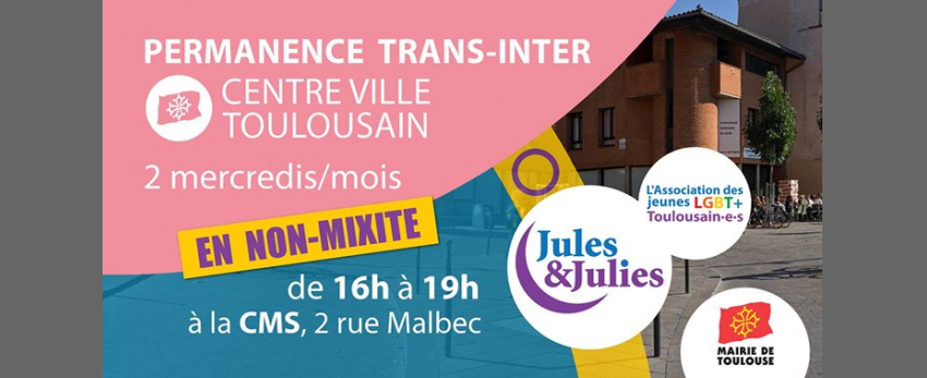 Permanence Trans/Inter Toulouse - Jules & Julies