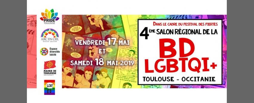 4ème Salon Régional de la BD Lgbtqi+